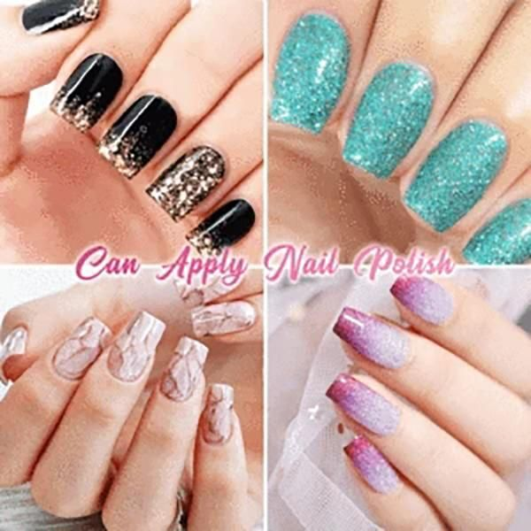 Wasting Your Money And Time On Easy To Break Expensive Acrylic Nail Extension Fiberglass Is Yet The Hottest Item Nail Extensions Silk Nails Fiberglass Nails