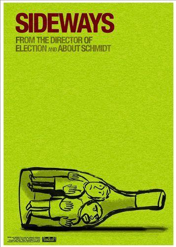 Poster: Sideways :: Venda de poster de cinema :: E O Vídeo Levou :: Centro de Entretenimento