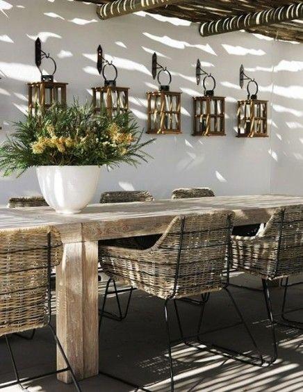 Tuin inrichten in Ibiza style