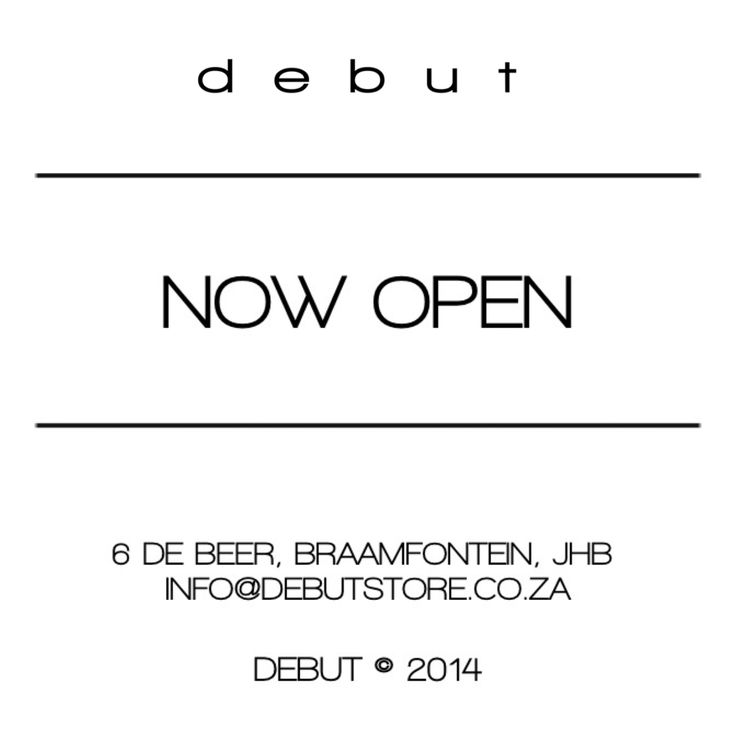 DEBUT IN-STORE #debut #fashion #storedesign #style #gear #music #braamfontein