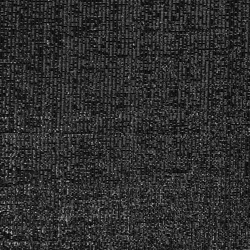 Jersey black with silver lurex - Stoff & Stil