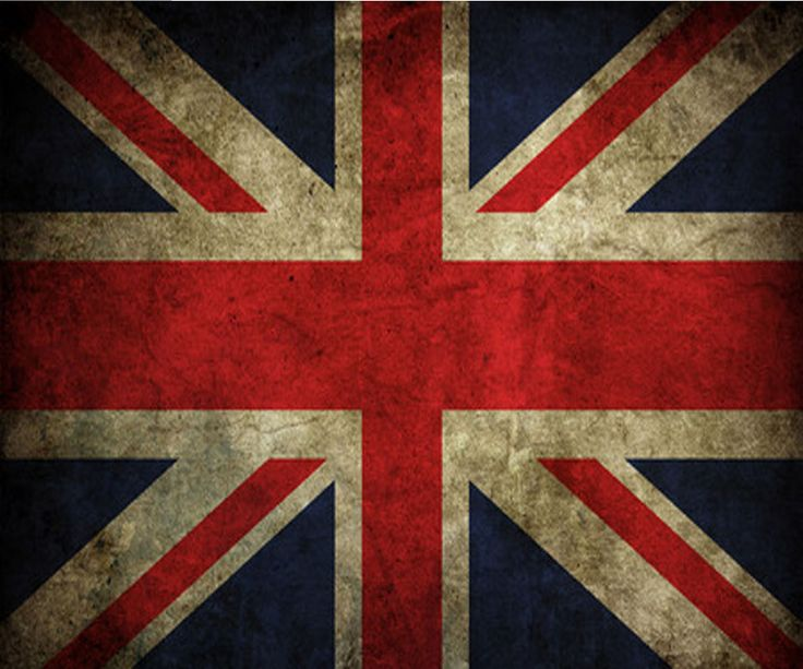 Vintage British flag art.. bang on