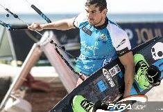 Day 2 at The Red Sea Kitesurf World Cup 2014.  Supporting his sponsors.  #skullcandyNZ #mysticboarding #BalanceSportsNutritionNz
