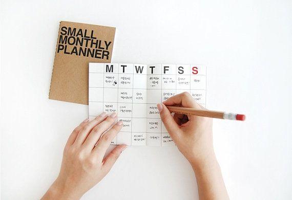 25  unique monthly planner ideas on pinterest