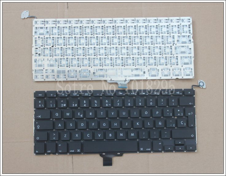 New Spanish Laptop Keyboard 2009-2012 For Apple Macbook Pro A1278 MC700 MC724 MD313 MD314 SP Latin Keyboard Replacement