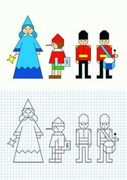 cuadricula dibujos para niños - Buscar con Google