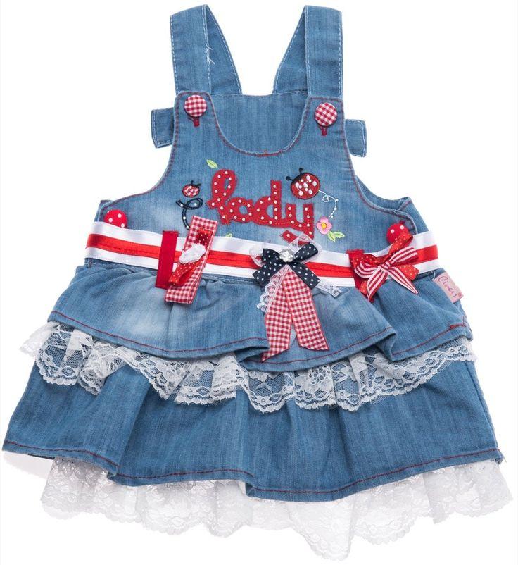 Cinar βρεφική φούστα σαλοπέτα τζιν «Lady» Κωδικός: 18201  €18,90 (-37%)
