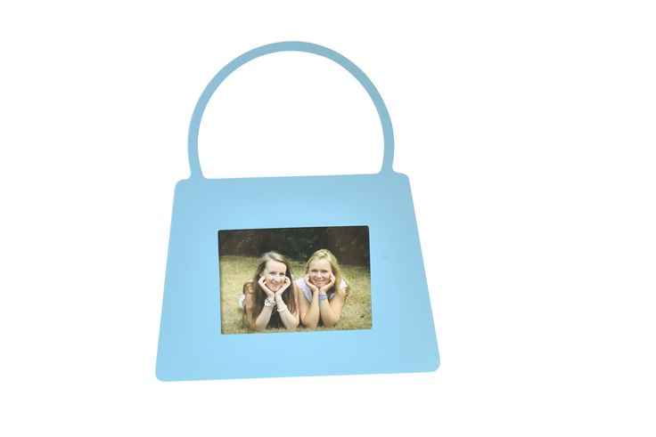 Turquoise handbag photo frame, £14.50