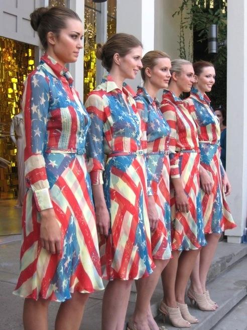 Catherine Malandrino Flag Dress, Fourth of July Style