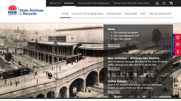 Discover Treasures at State Archives NSW From Home - Genealogy & History News