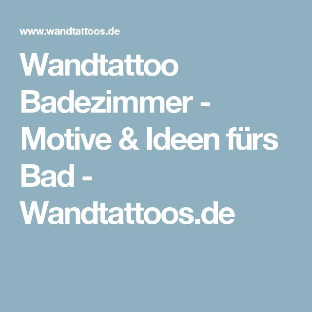 Awesome Wandtattoo Badezimmer Motive u Ideen f rs Bad Wandtattoos de
