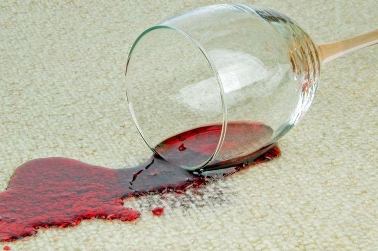 5 façons de se débarrasser d'une tache de vin rouge