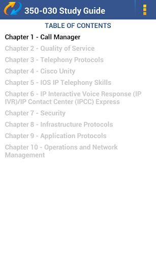 TestKing Study Guide For Cisco Exam 350-030 Demo Version<p>Cisco CCIE Voice Written Exam<p>-'Is this app for me?'<p>-If you want a demo version of TestKing's preparation guide for Cisco exam 350-030, then YES! <p>Let us tell you more… <p>Looking for the best way to prepare for your Cisco 350-030 exam? If you've got your eyes on the prize of CCIE Voice certification, way to go! Yet, you're about to face some hard work... Don't let it discourage you as TestKing makes exam preparation easier…