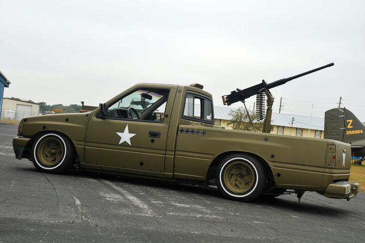 1992 Isuzu Pickup - .50 Caliber