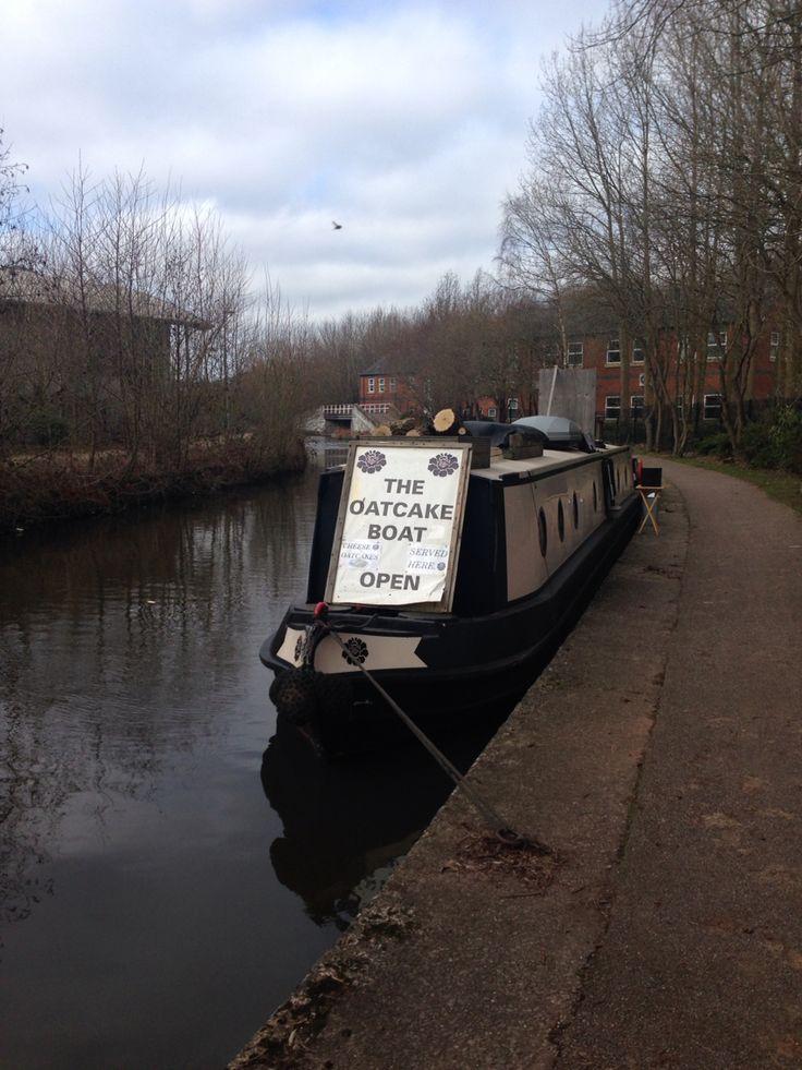 The Oatcake Boat in Stoke.