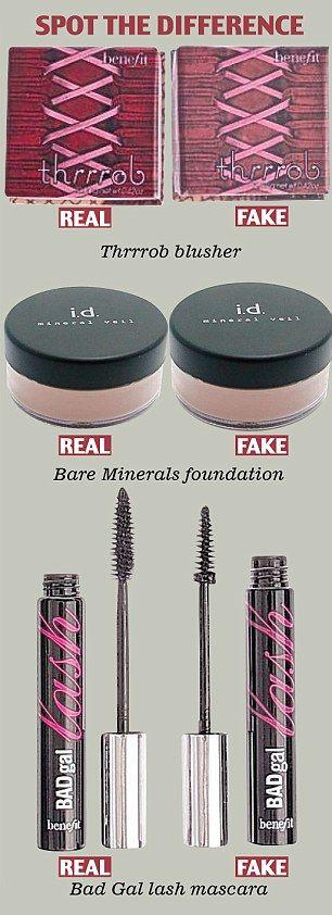 Les copies de cosmétiques à moindre coût : voyez comment ils peuvent être toxiques!