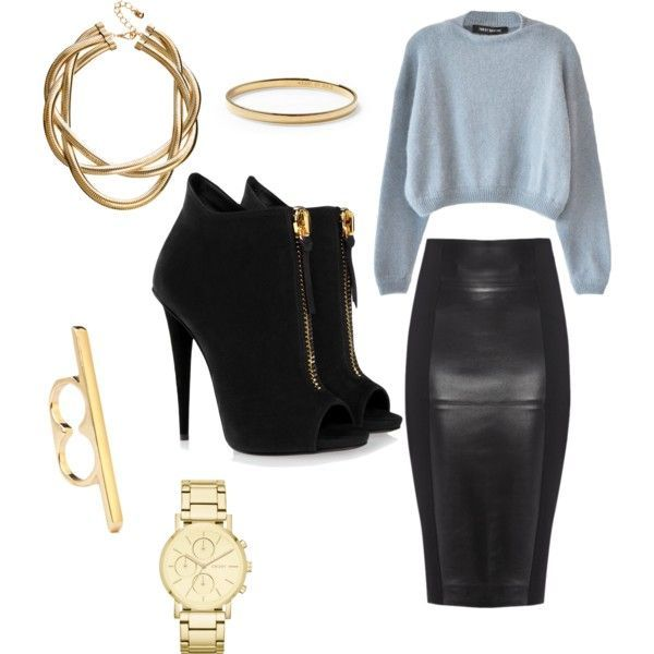 Cute date outfit by dominique-dennoun on Polyvore