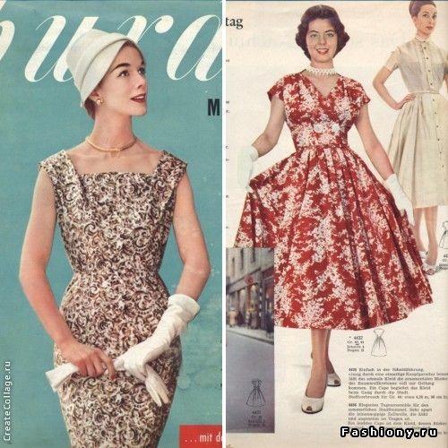 Мода на платья 1960
