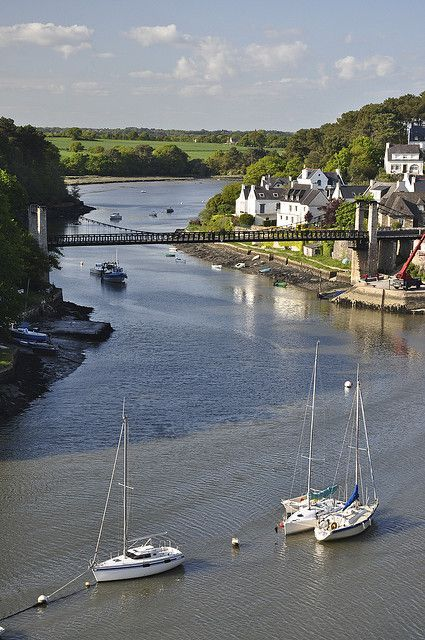 Morbihan, Brittany, France - such a beautiful area, the coastline is glorious.