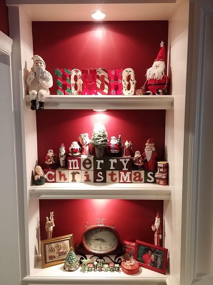 Family Room Santas