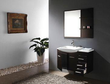 Picture Gallery For Website  Infinity Single Bath Vanity modern bathroom vanities and sink consoles san