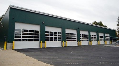 123 best pre engineered metal building images on pinterest for Pre engineered garage