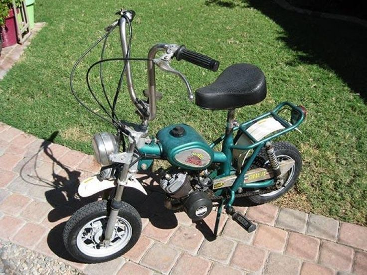Omer Tanga 49cc Fold-up Scooter For Sale on Classic & Race Bike