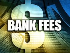 How to Save on Banking Fees: One of the ways we can save money is to take a look at what we're paying in bank fees.