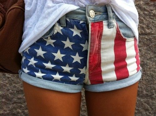 Fashion, Flags Shorts, 4Thofjuly, American Flags, Style, Clothing, Fourth Of July, 4Th Of July, Jeans Shorts