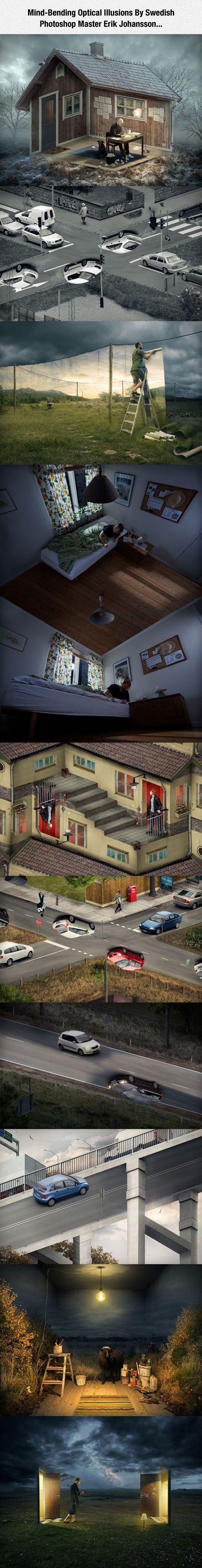 Erik Johansson's Mind-Blowing Images