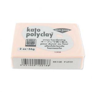 Pâte polymère Kato Polyclay  56 gr Beige chair (n°218) : L'argil