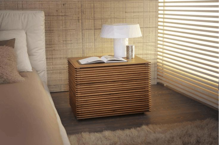 Riga Bedside Table by T. Colzani for Porada | Poliform Australia