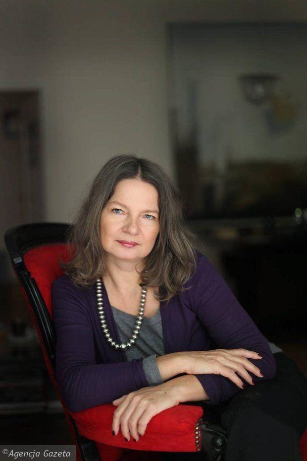 Agata Tuszyńska - pisarka, poetka i reportażystka