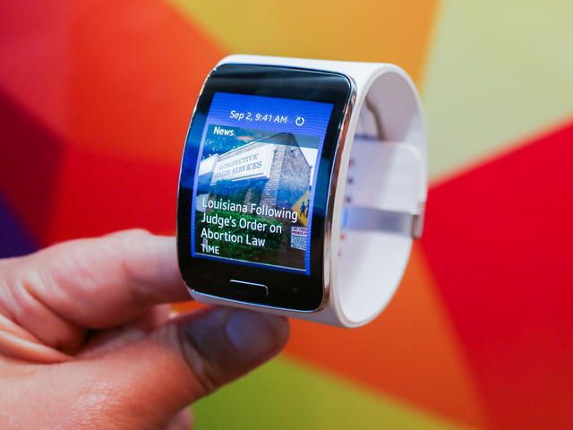 Samsung Gear S: Preview - CNET