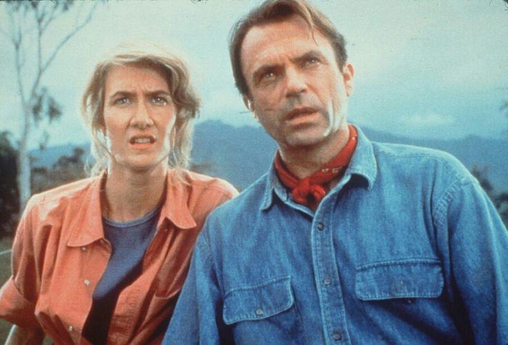 Dr. Ellie Sattler and Dr. Alan Grant Jurassic Park