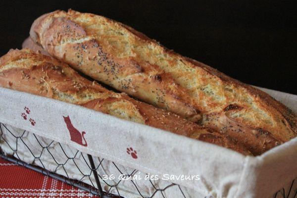 pain baguette sans petrissage magique2