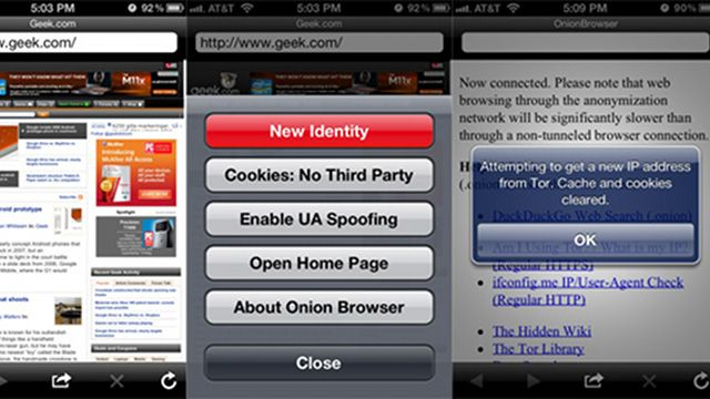 Onion Browser Brings Encrypted Web Browsing to the iPhone: Browser Bring, Web Brows, Encrypt Web, Bring Encrypt, Onions Browser A