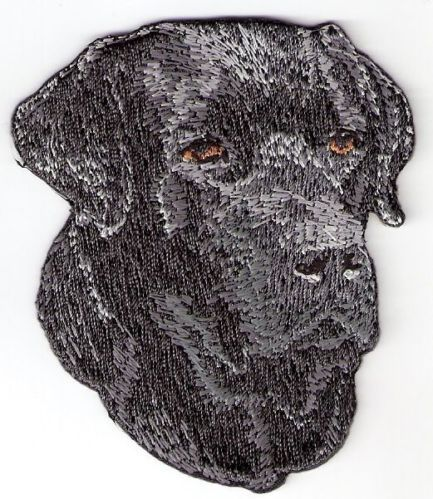 Black Labrador Dog Breed Embroidery Patch Applique | eBay
