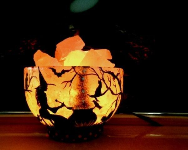 Salt Lamps And Cats Adorable 17 Best Halloween Lamp Images On Pinterest  Buffet Lamps Halloween Decorating Design