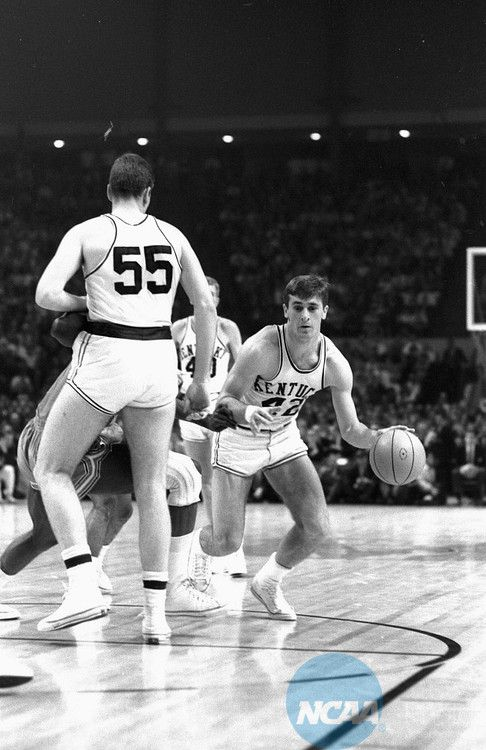 Pat Riley playing for Kentucky - the reason I became a Lakers fan.  He coached the LA Lakers (back in the day)