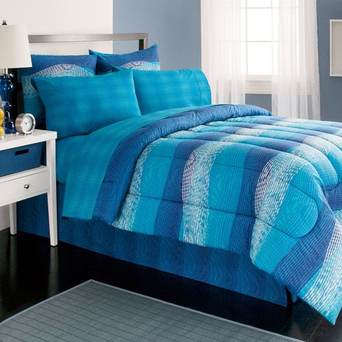 Royale Home Illusions Bed In A Bag Bedding Set Walmart