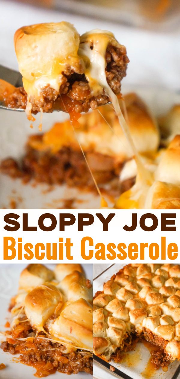 Sloppy Joe Biscuit Casserole In 2020 Beef Casserole Recipes Ground Beef Casserole Recipes Beef Recipes Easy Quick