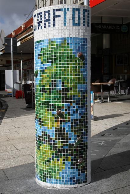 Grafton Column by John Penman Glass Art, via Flickr