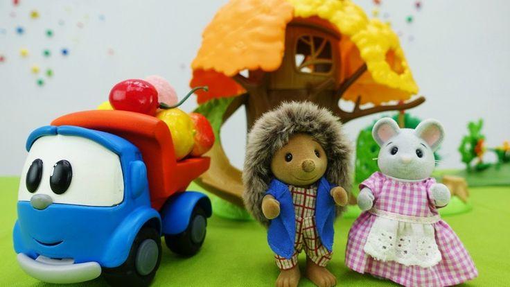 Игрушки и игры для детей: Грузовичок Лева спасает зимние запасы Мышонка!...