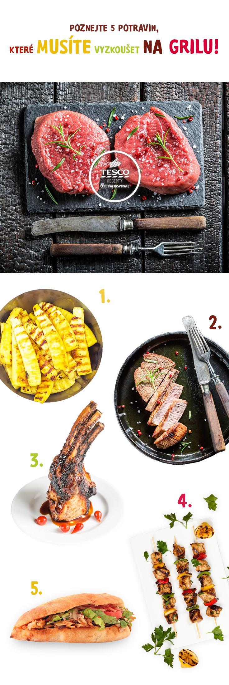 Vyzkoušejte ty nejlepší potraviny na grilu. ;-) Zaručujeme, že si pochutnáte.