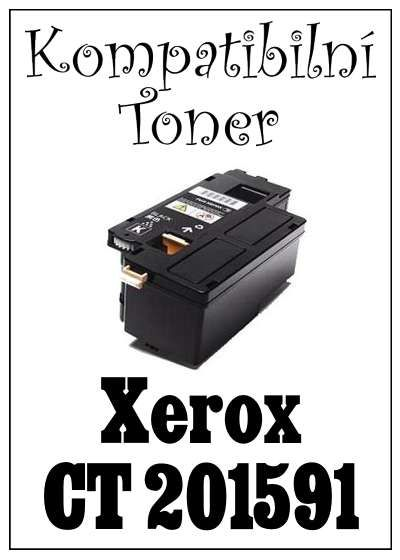 Kompatibilní toner Xerox  CT 201591 za bezva cenu 1888 Kč