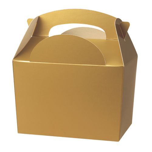 Gold party/ meal boxes http://www.wfdenny.co.uk/p/gold-meal-boxes/1918/