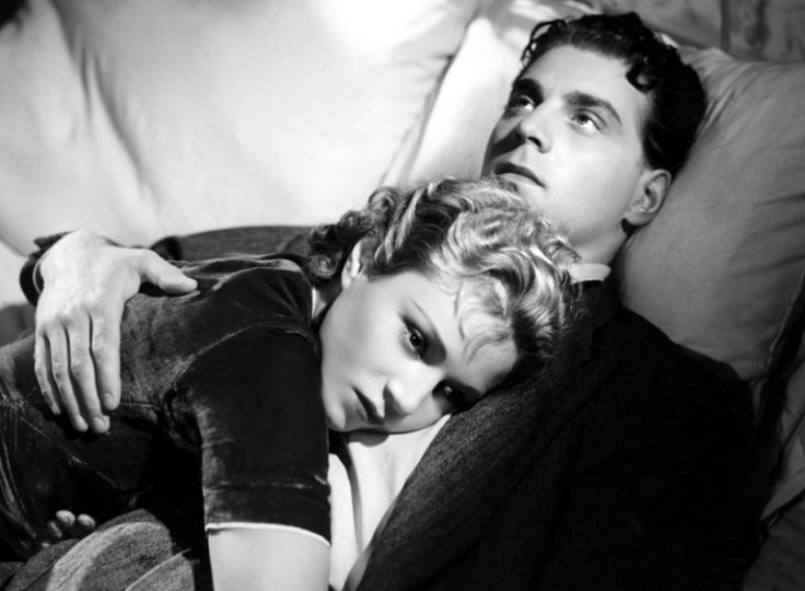 Annabella and Jean-Pierre Aumont in Hotel du Nord, 1938