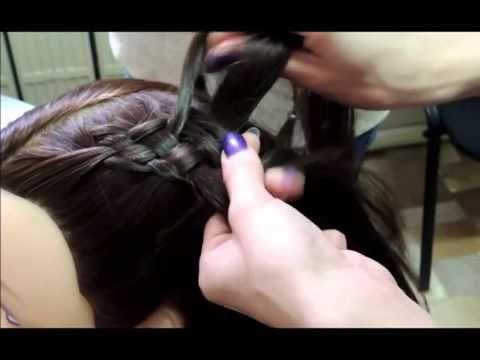 Смотреть Прически Легкая Из Косичек Для Маленькой Девочки В Детский Сад - Косички На Детские Волосы - YouTube