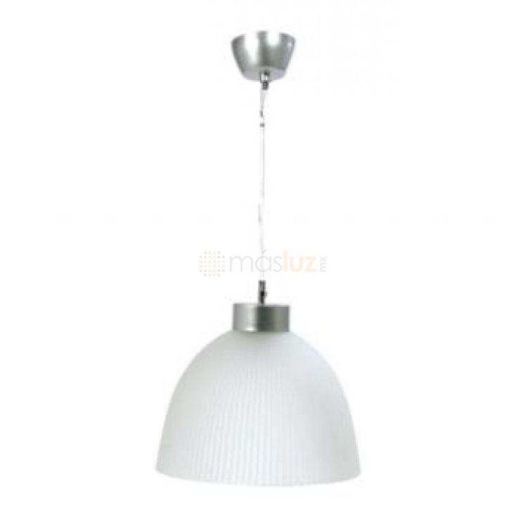 Luminario Campana Cristal Acido V9030C/350 - masluz